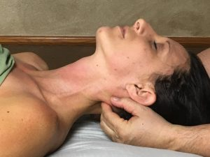 relaxation neck massage